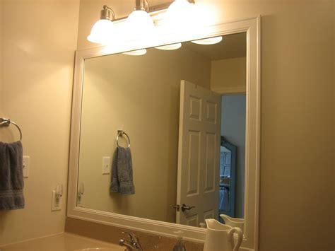 elizabeth  framing bathroom mirrors