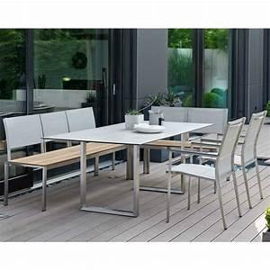 Gartenmöbel Set Mit Bank : stern gartenm bel set mit stuhl cardiff bank arima und kufentisch edelstahl hpl ~ Bigdaddyawards.com Haus und Dekorationen