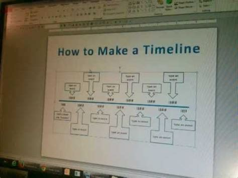 timeline  powerpoint part  youtube
