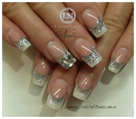 60 Glitter Nail Art Designs Art And Design Top 60 Gorgeous Glitter Acrylic Nails