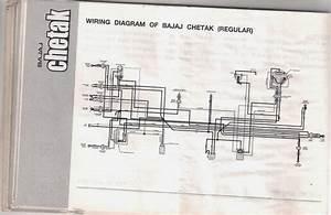 Bajaj Chetak Wiring Diagram