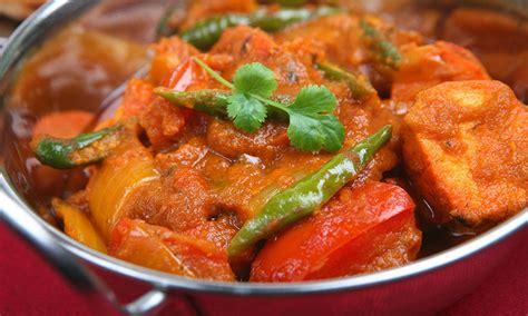 healthy chicken jalfrezi curry recipe