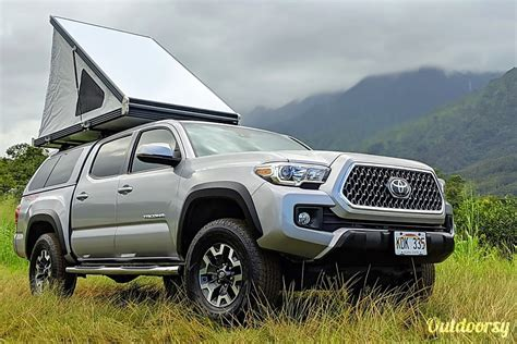 toyota tacoma motor home truck camper rental  lihue