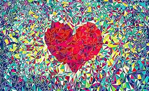 Cool Heart Wallpaper - WallpaperSafari