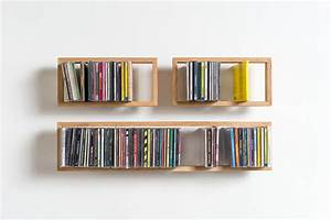 Shelf b cd das kleine b for Cd regale holz