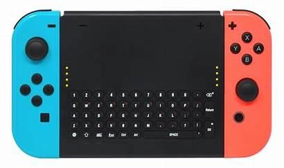 Keyboard Switch Nintendo Wireless Grip Joy Con