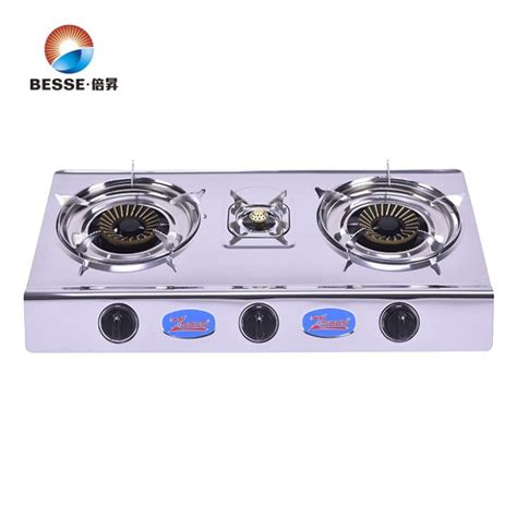 kitchen gas stove table kitchen use burner stainless steel table top