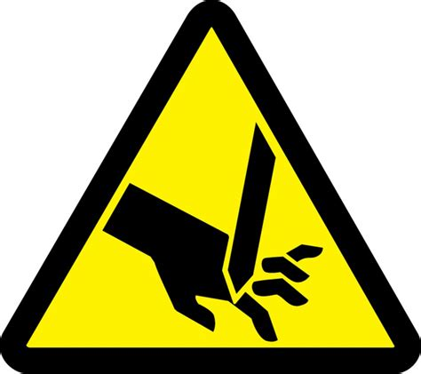Safety Labels by Warning Injury Iso Safety Label Lsgw147