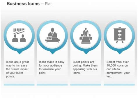 team ceo meeting business chart  icons graphics
