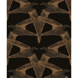 papier peint panoramique black birds bien fait haut de