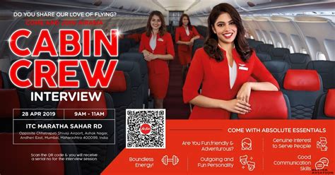 Cabin Crew In Mumbai by Airasia India Cabin Crew Walk In Mumbai April