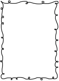 squiggle page border border designs pinterest page