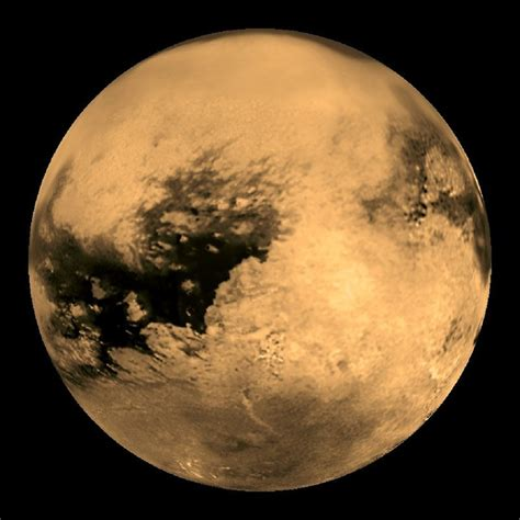 Titan S by Titan Saturn S Largest Moon S Astronomy News
