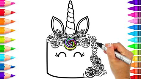coloring pages unicorn cake coloring page  vocal