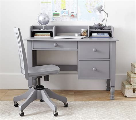 Toddler Desk With Storage by Storage Desk Low Hutch Pottery Barn