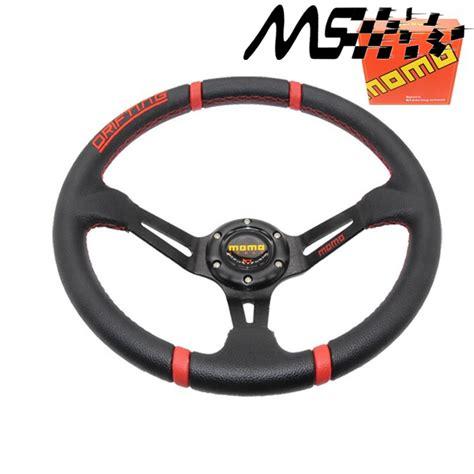 interior stir racing momo 12 14 inches momo steering wheel around 350mm pvc racing