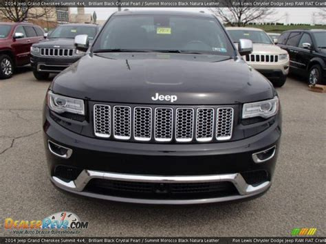 jeep summit black 2014 jeep grand cherokee summit 4x4 brilliant black