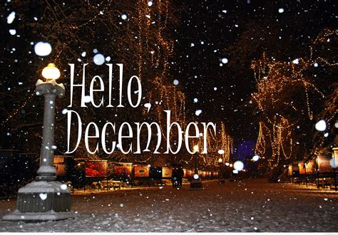 Hello December Wallpapers & Backgrounds Images