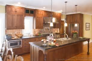 mission style kitchen island pictures of kitchens traditional two tone kitchen cabinets kitchen 133