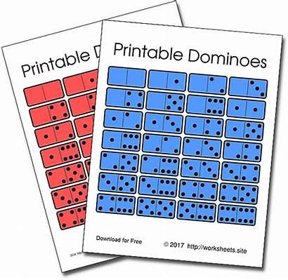 Dominoes Printable Games Pdf Math Domino Rules