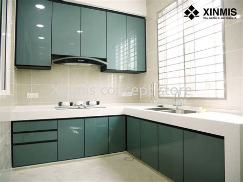 Cabinets Aluminum by Aluminium Kitchen Cabinet Sungai Buloh Supplier Supply