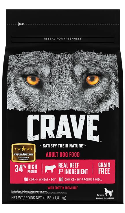 grain  high protein dog  cat food crave