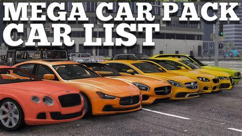 Realistic Cars Mega Pack 160 Cars [full Car