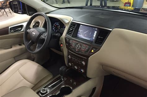 nissan pathfinder interior nissan reveals 2017 pathfinder at enthusiast network offices