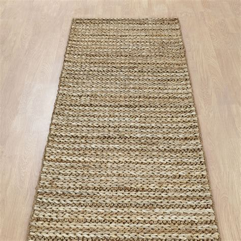Cheap Natural Rugs by Crestwood Jute Hallway Runner In Natural Free Uk