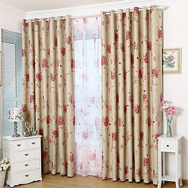 Country Drapes - country curtains 174 blackout sided printing country