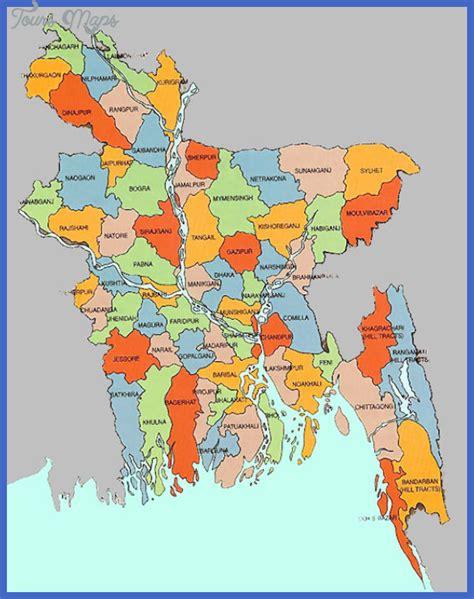 bangladesh map toursmapscom