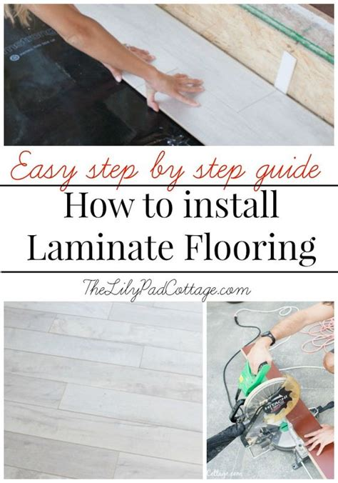 guide to laying laminate flooring how to install laminate flooring the white do it yourself and cottages