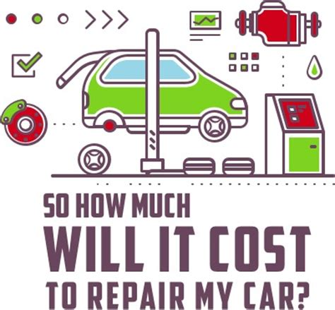 How Much Does It Cost To Repair A Garage Door by So How Much Will It Cost To Repair My Car Murphy S Autocare