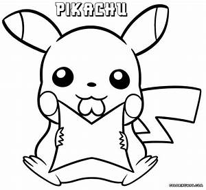 Pikachu coloring pages | Coloring pages to download and print