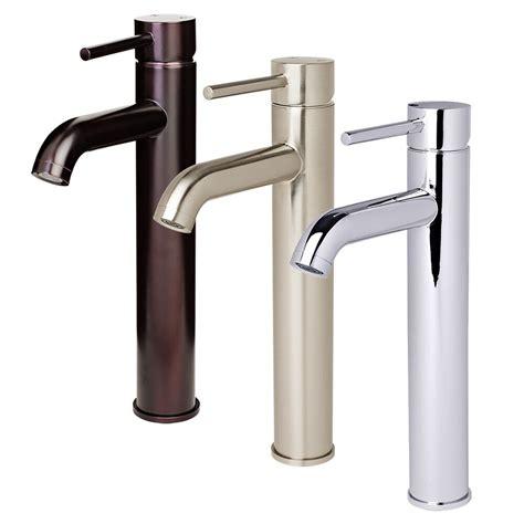 Designer Bathroom Faucets by Contemporary Bathroom Faucet Vessel Sink Vanity
