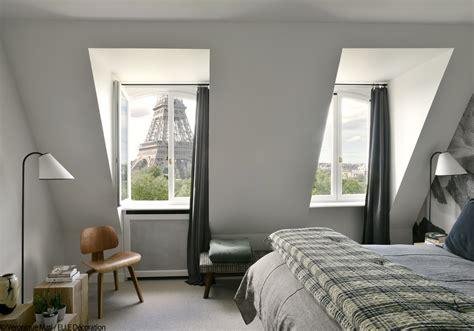chambre avec vue rivaz un duplex design et chaleureux à la tour eiffel