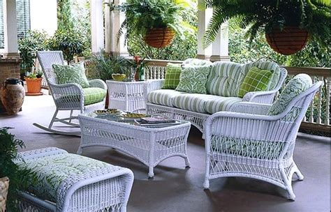 Cheap Porch Furniture by Indoor White Wicker Furniture The Porch Cheap Modern