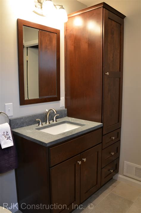 Vanity In - 36 inch bathroom vanity with side cabinet