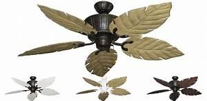 Outdoor ceiling fan blades double