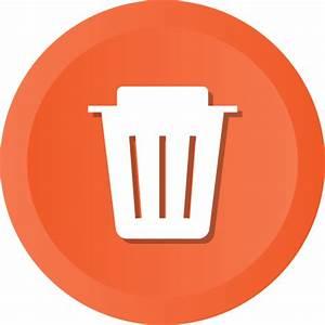 Delete, dustbin, empty, recycle, recycling, remove, trash ...