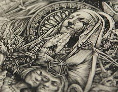 Dzo Olivier Illustration Serie Black White