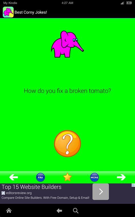 amazoncom corny jokes  corny silly jokes app