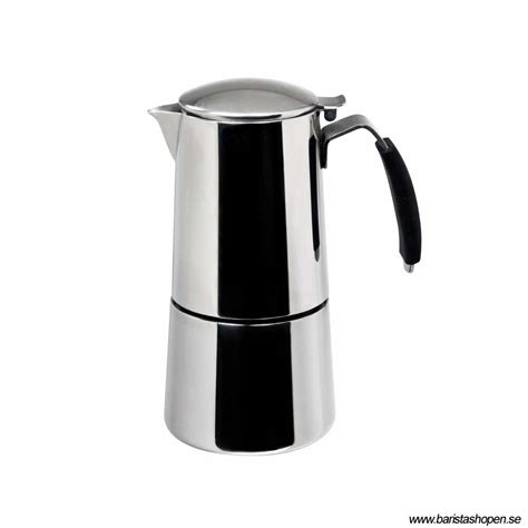 Ilsa   Espresso Coffee Maker   Omnia Express   Espressobryggare för spis eller induktion   25cl