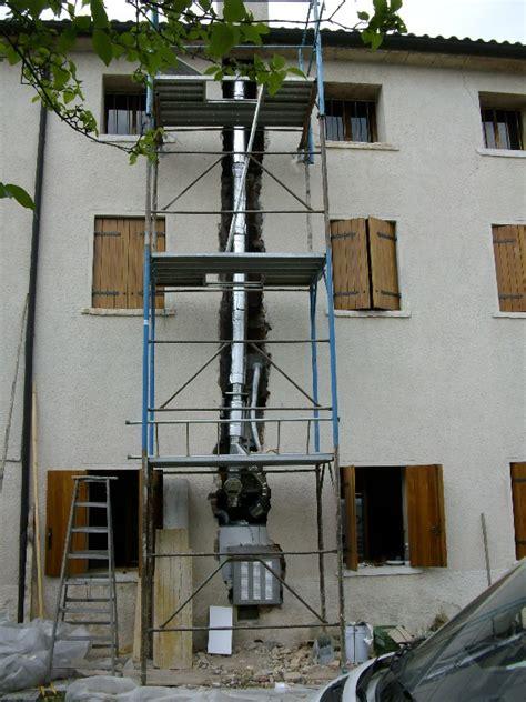dimensioni canne fumarie per camini installazione canna fumaria stufa pellet