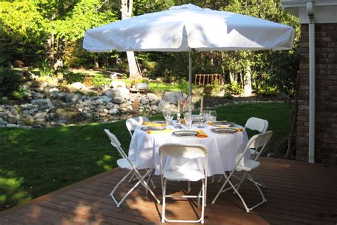 umbrellas table rentals for burlington bellingham