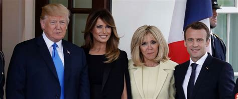Melania Trump & French First Lady Soar in Heels for Tree Planting Ahead of State Dinner