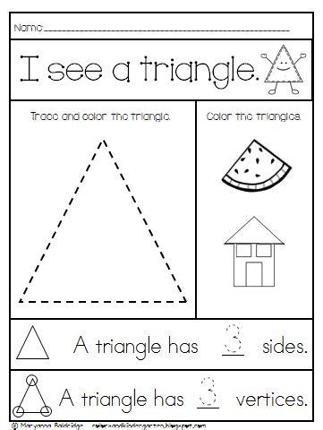 colors and kindergarten kindergarten shapes 103   Shape sample 1