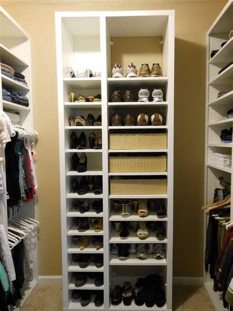 built in shoe rack closet shoe shelves built in home design ideas