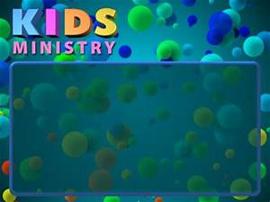 Kids Ministry Bubbles | Motion Worship | Youth Worker
