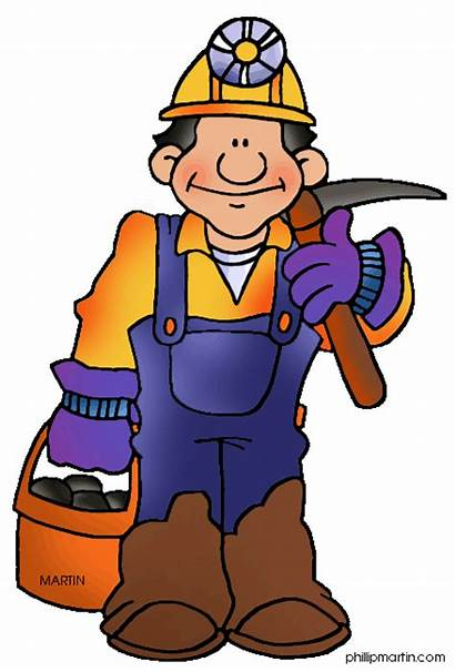 Clipart Miners Mining Miner Coal Animated Clipground